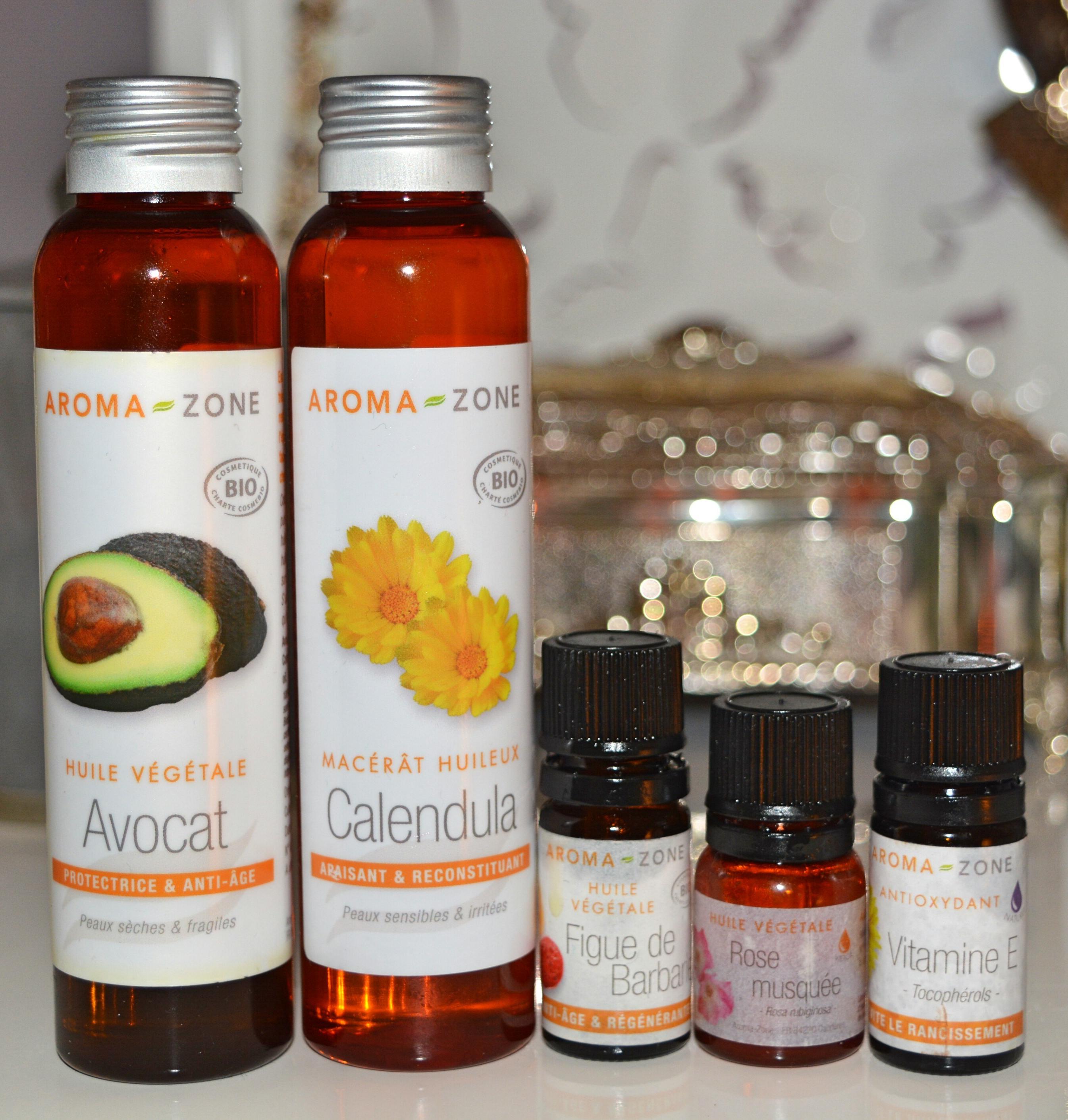 synergie d'huiles végétales anti-âge pour réduire les rides et ridules