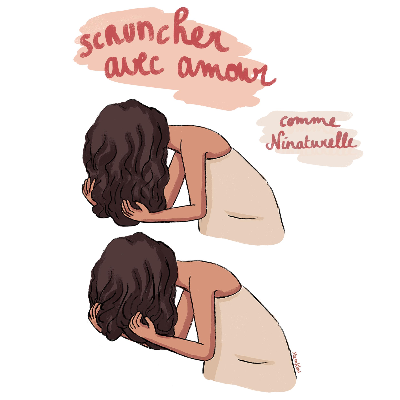 scrunching