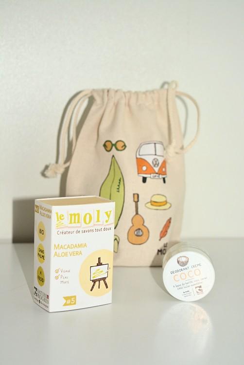 Le moly : Déodorant et savons Saf naturels, bio, slow cosmétique et vegan
