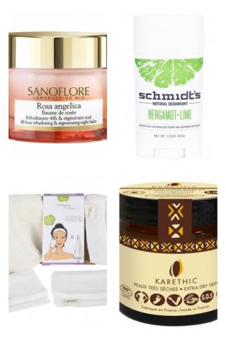 Mes indispensables chez Mademoiselle Bio : une sélection de mes produits bio favoris pour la peau, les cheveux, l'hygiène avec des produits pour bébé/enfant